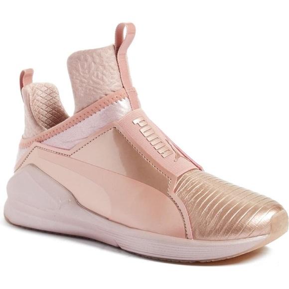 Puma Shoes | Fierce Metallic Rose Gold